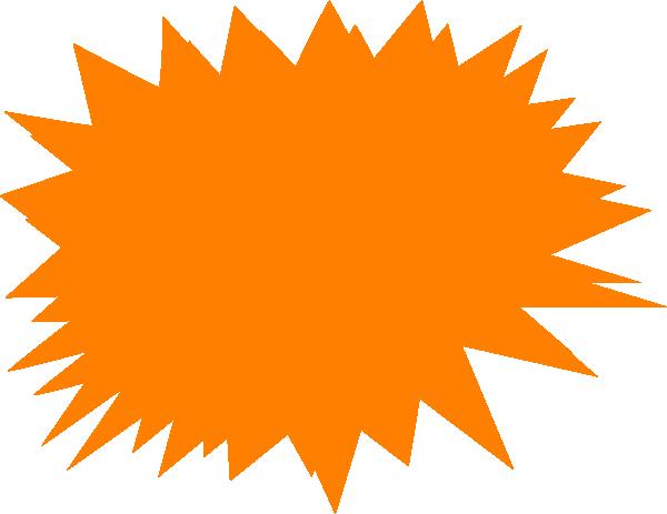 Jagged Orange Clip Art at Clker.com.
