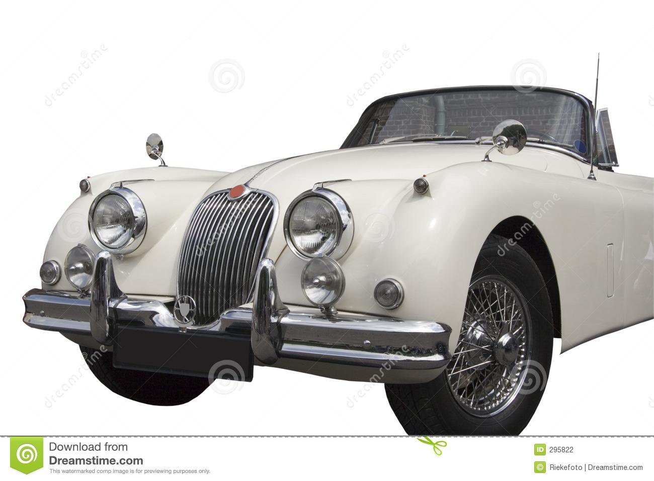 Vintage Jaguar.