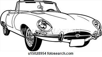 Jaguar Car Clipart.