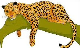Jaguar clip art vector free clipart images image.