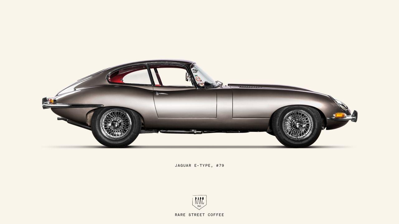 Jaguar E Type Silhouette.