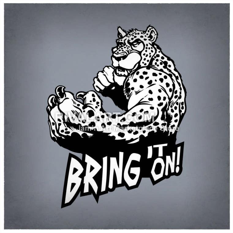 Jaguar Bring It On Graphic.