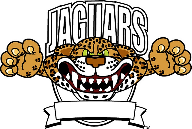 Jaguar football clipart.