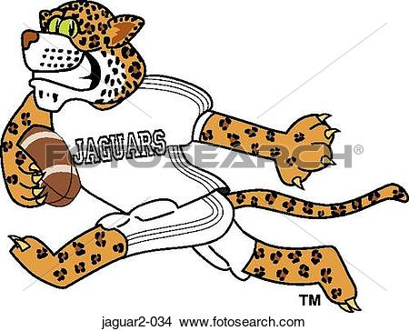 Jaguar football Clipart and Stock Illustrations. 4 jaguar football.