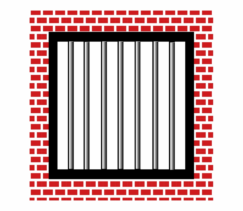 Jail Cell Bars Drawing Free PNG Images & Clipart Download #257887.