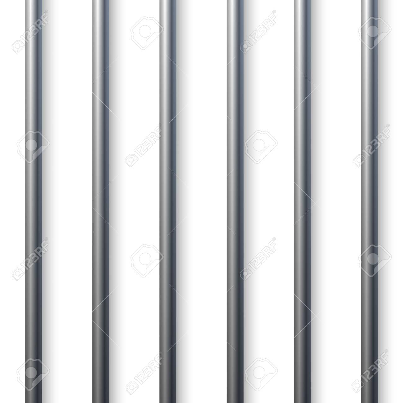 Prison Cell Bars.