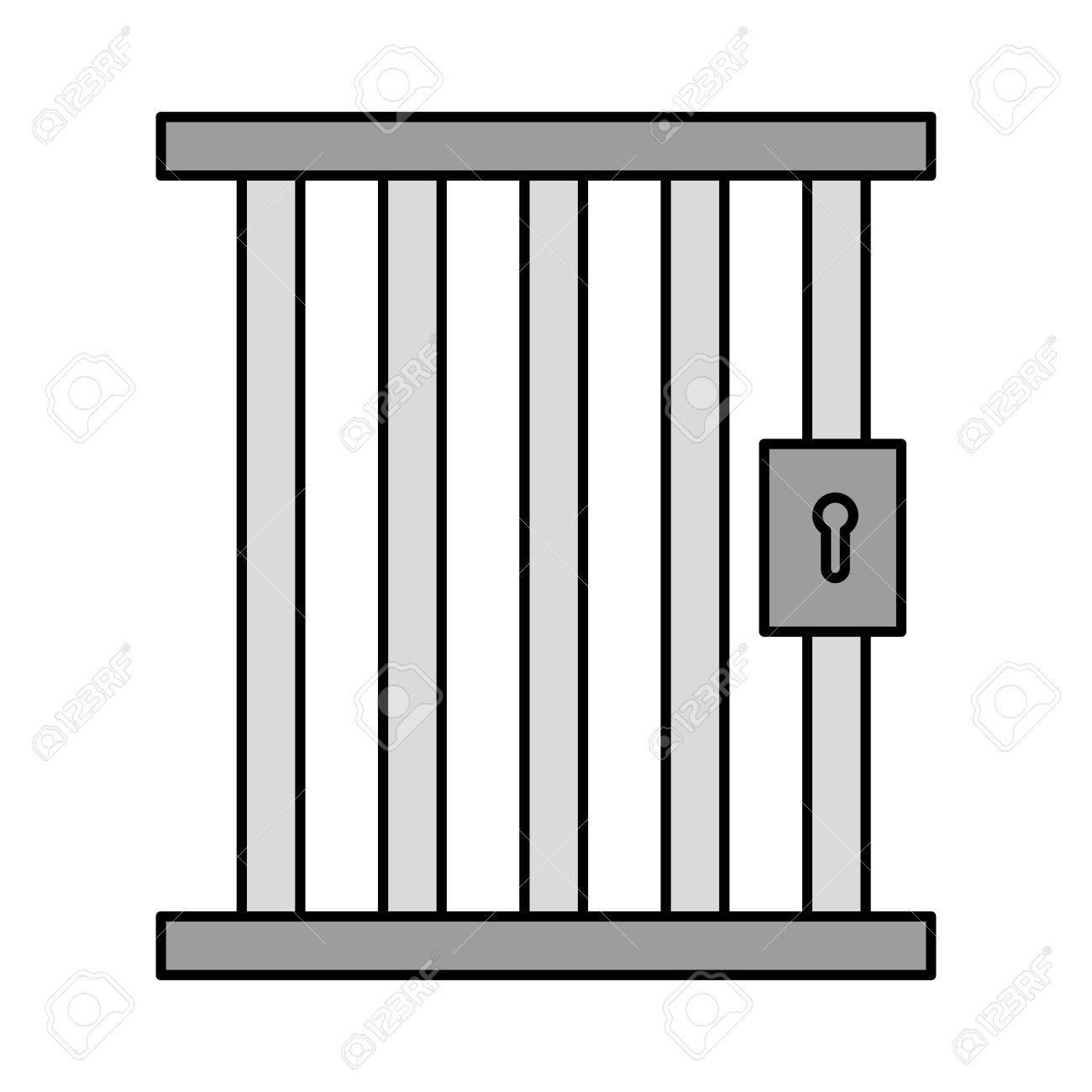 Prison Door Clipart.
