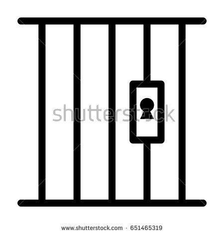 Jail clipart black and white 5 » Clipart Station.