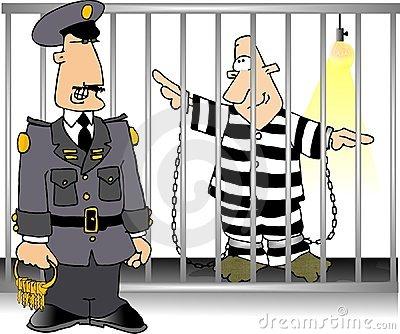Clipart jail bird.