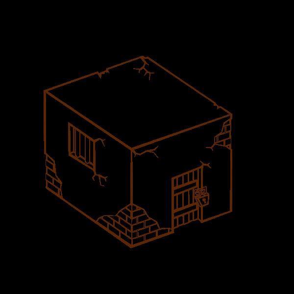 RPG map symbols: Jailhouse Clipart, vector clip art online.