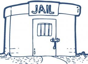 Jailhouse Clip Art Free Vector.