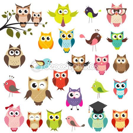 Lots and lots of owls! I think Jaime will like this!.