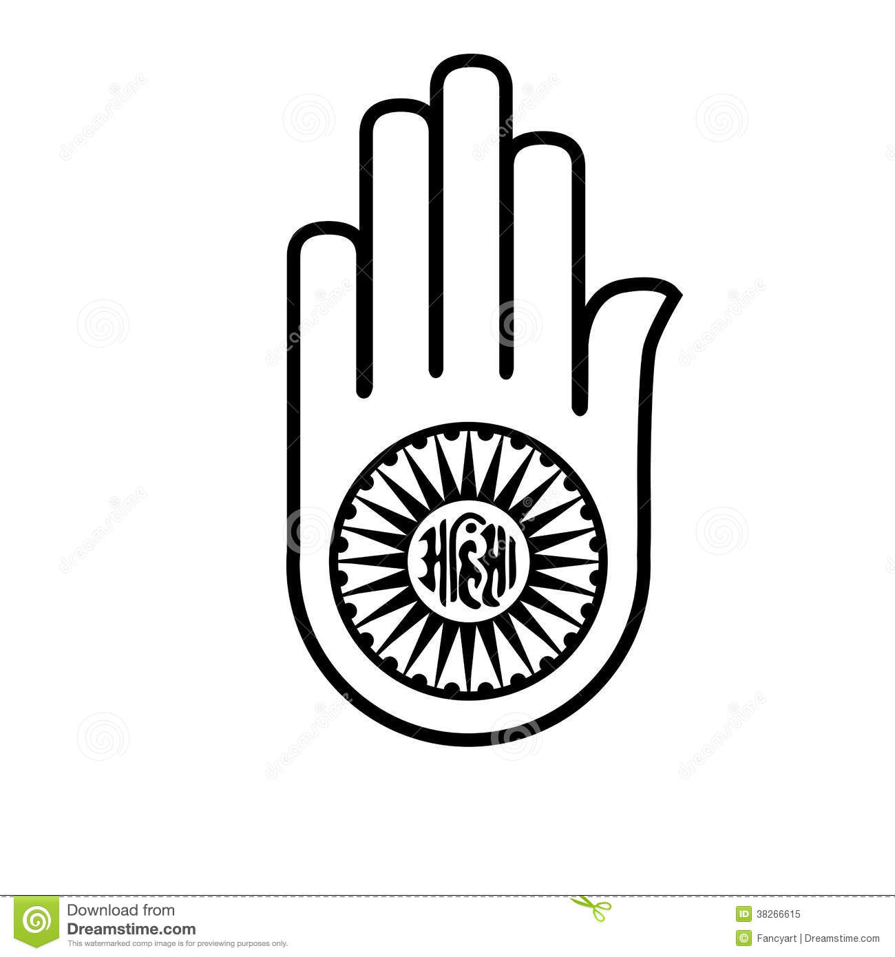 Jainism Stock Illustrations.