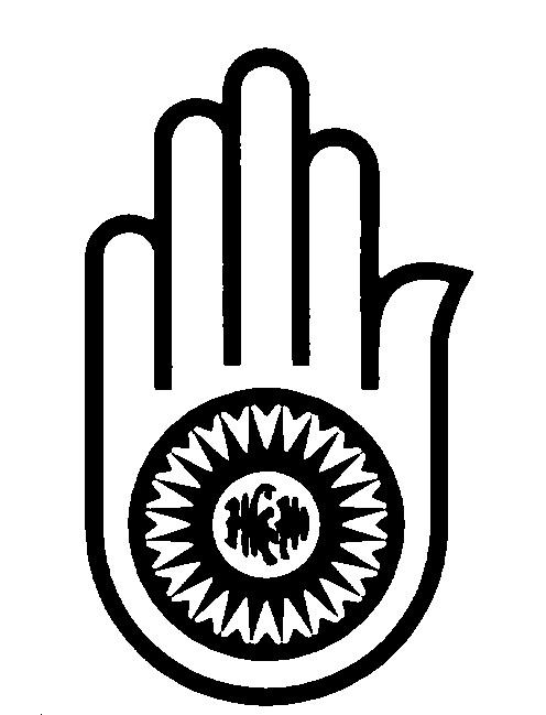 Jain symbol clip art.
