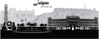 Jaipur Stock Illustrations.