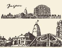Jaipur Stock Illustrations.