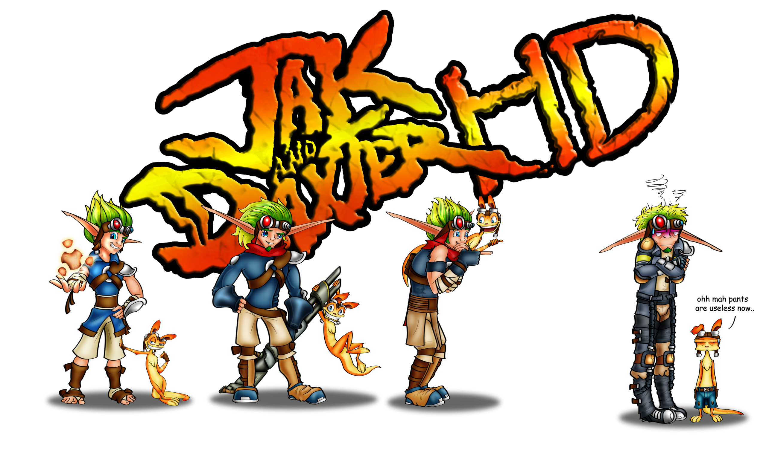 Jak and daxter clipart.