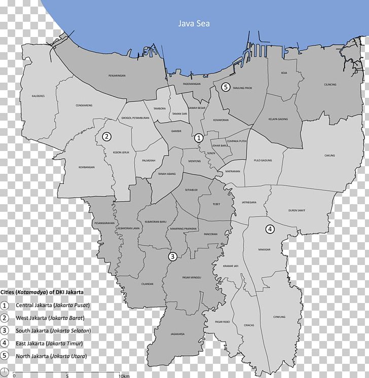 Kebayoran Baru North Jakarta East Jakarta West Jakarta.