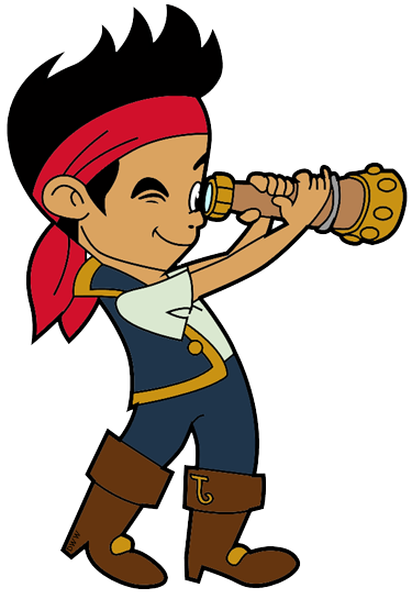 Jake and the Neverland Pirates Clip Art 3.