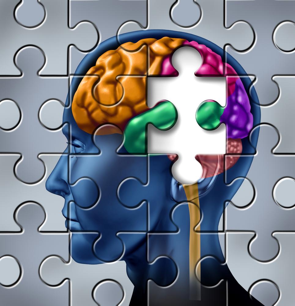 Cognitive Impairment Clip Art.