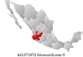 Map jalisco Clip Art and Illustration. 11 map jalisco clipart.