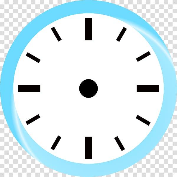 White analog clock , Clock face Jam dinding , jam transparent.