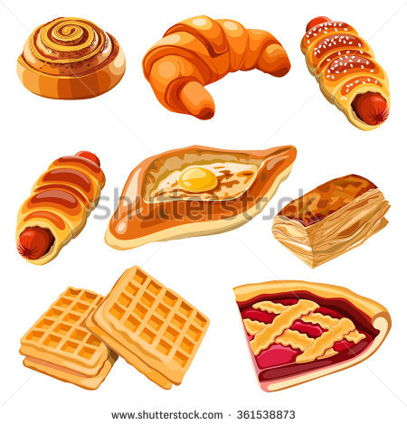 Pastry Stock Photos, Royalty.