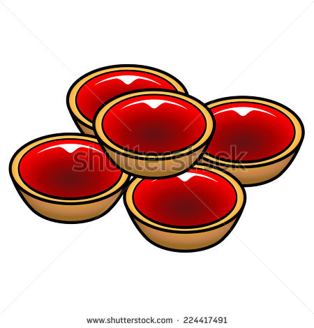 Jam Tart Stock Photos, Royalty.