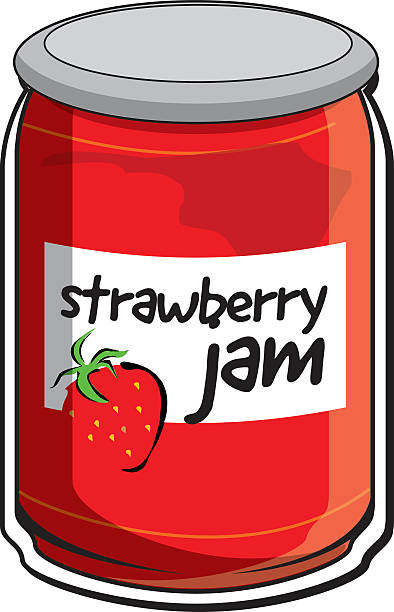 Best Strawberry Jam Illustrations, Royalty.