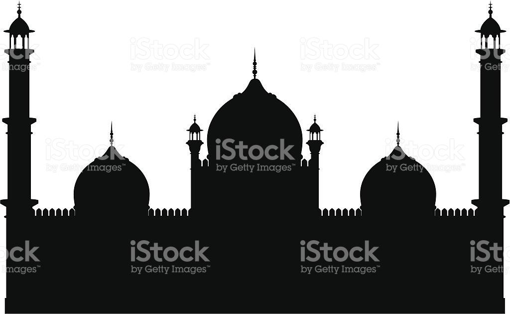 Ahmedabad Jama Masjid Mosque Clip Art, Vector Images.