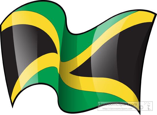 Jamaican Flag Clipart.