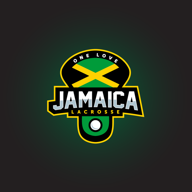 Jamaica Lacrosse Team Logo for the Jamaican 2018 World Team.