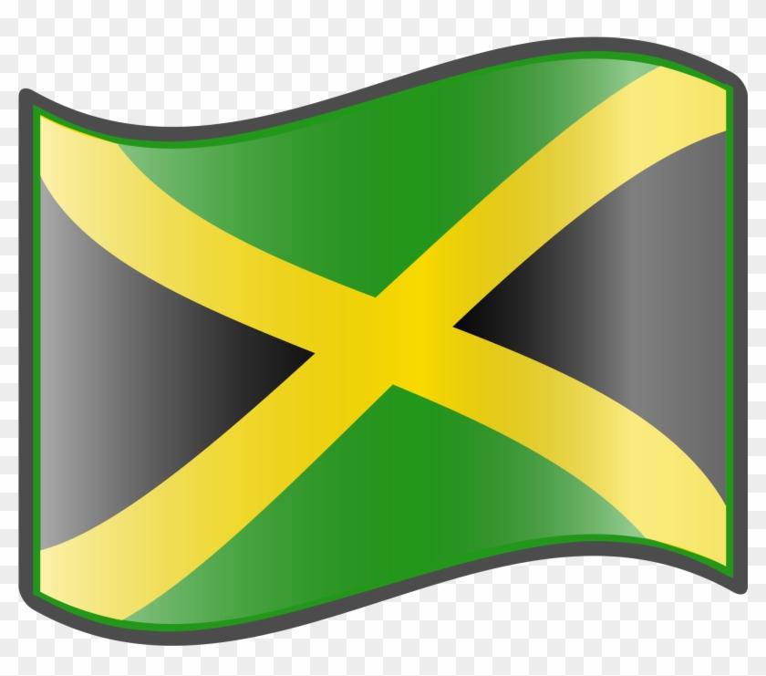 Nuvola Jamaican Flag.