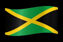 Jamaica flag image.