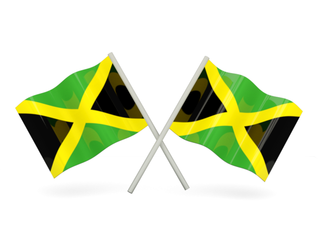 Jamaica Flag PNG Transparent Images.