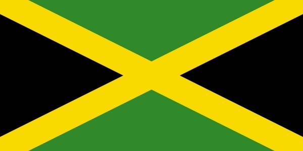Shoeshinecs Jamaican Flag clip art Free vector in Open office.