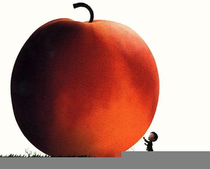 James And The Giant Peach Clipart.