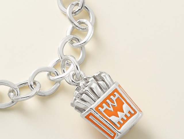 James Avery releases new french fries charm for Whataburger fans.