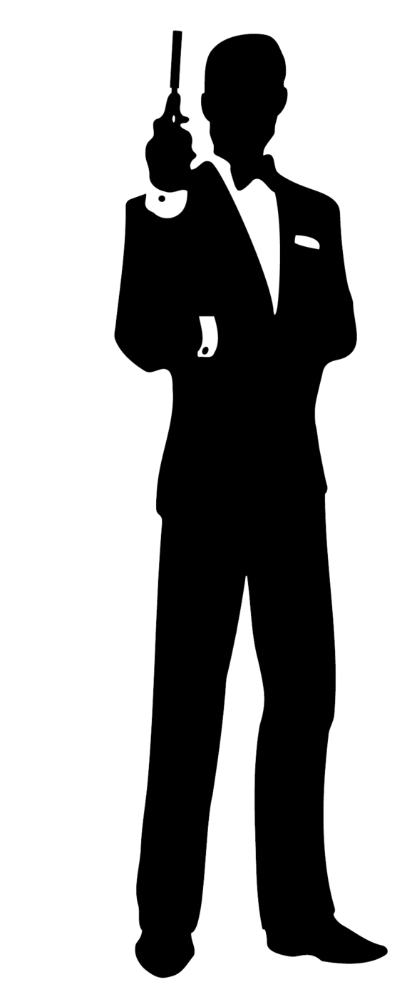 James bond silhouette clip art clipart images gallery for free.