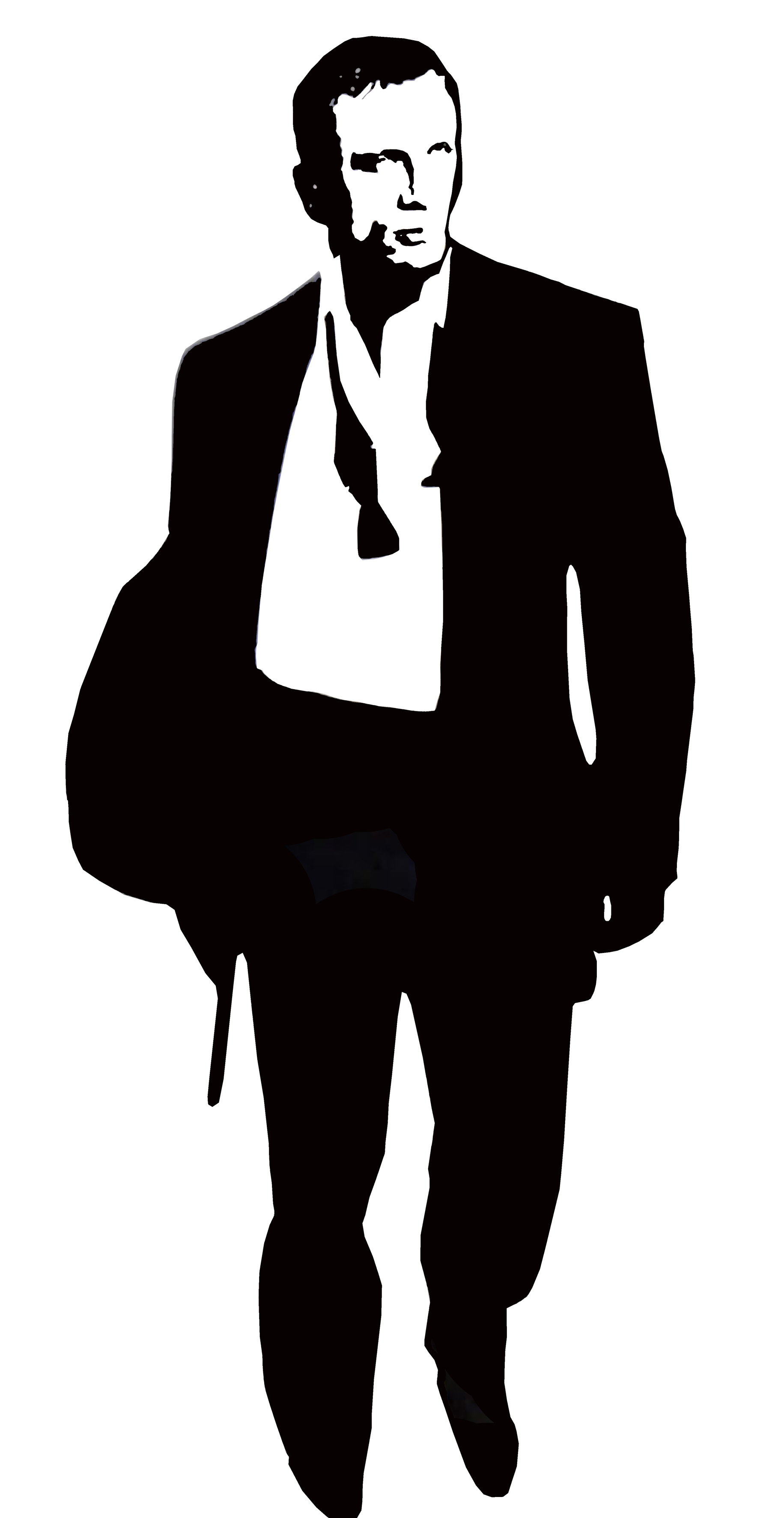 James bond daniel craig clipart.