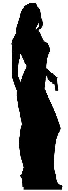 12 James Bond Silhouette Images, Digital Clipart Images, Clipart.