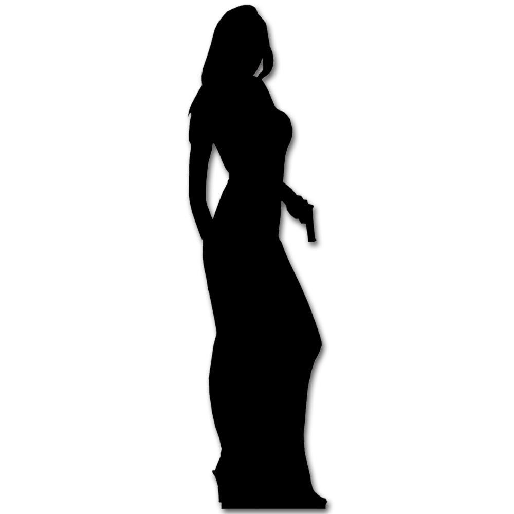 James Bond Silhouette Vector at GetDrawings.com.