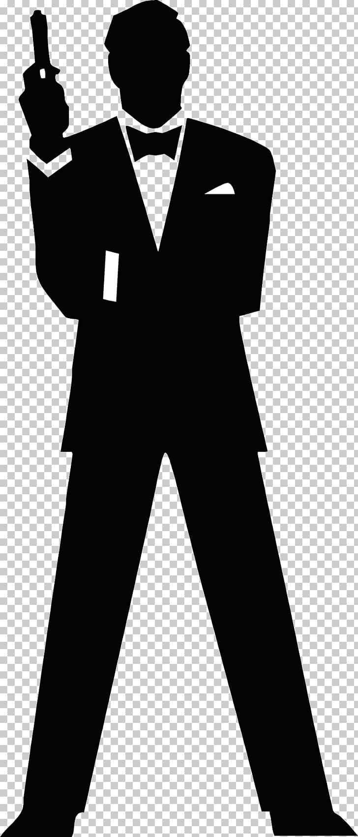 James Bond Film Series Silhouette , james bond PNG clipart.