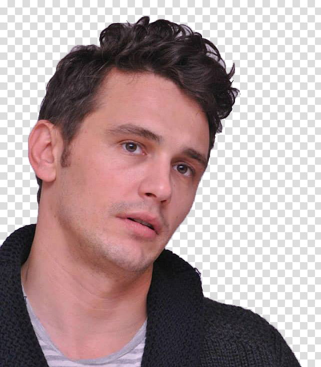 James franco transparent background PNG clipart.