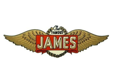 James Motorcycle Logos.
