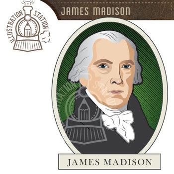 James Madison Clip Art.