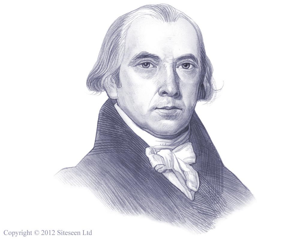 James Madison Sketch at PaintingValley.com.