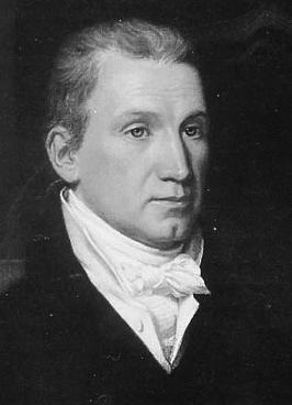 Clipart of President James Monroe.