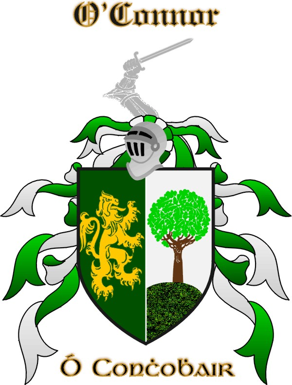 O'Connor coat of arms.