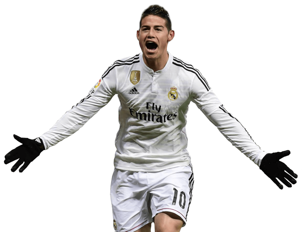 James Rodríguez Goal transparent PNG.